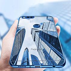 Huawei Honor Play 7X用極薄ソフトケース シリコンケース 耐衝撃 全面保護 クリア透明 T07 ファーウェイ クリア