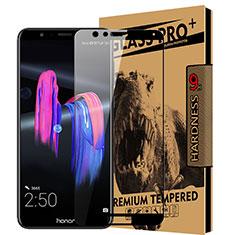 Huawei Honor Play 7X用強化ガラス フル液晶保護フィルム ファーウェイ ブラック
