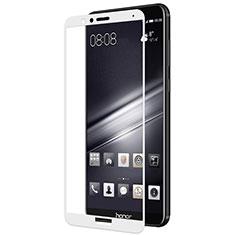 Huawei Honor Play 7X用強化ガラス フル液晶保護フィルム F02 ファーウェイ ホワイト