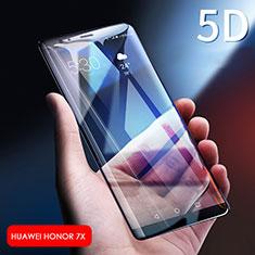 Huawei Honor Play 7X用強化ガラス フル液晶保護フィルム F06 ファーウェイ ブラック