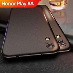 Huawei Honor Play 8A用極薄ソフトケース シリコンケース 耐衝撃 全面保護 ファーウェイ ブラック