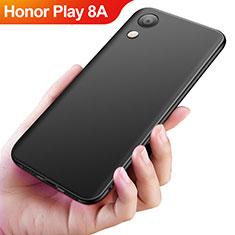 Huawei Honor Play 8A用極薄ソフトケース シリコンケース 耐衝撃 全面保護 S04 ファーウェイ ブラック