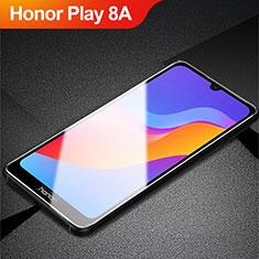 Huawei Honor Play 8A用強化ガラス フル液晶保護フィルム アンチグレア ブルーライト ファーウェイ ブラック