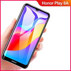 Huawei Honor Play 8A用強化ガラス フル液晶保護フィルム F04 ファーウェイ ブラック