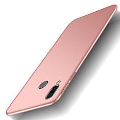 Huawei Honor Play用ハードケース プラスチック 質感もマット M01 ファーウェイ ローズゴールド