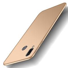 Huawei Honor Play用ハードケース プラスチック 質感もマット M01 ファーウェイ ゴールド