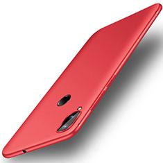 Huawei Honor Play用極薄ソフトケース シリコンケース 耐衝撃 全面保護 S01 ファーウェイ レッド