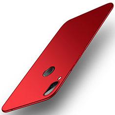 Huawei Honor Play用ハードケース カバー プラスチック ファーウェイ レッド