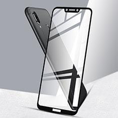 Huawei Honor Play用強化ガラス フル液晶保護フィルム F02 ファーウェイ ブラック