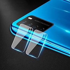 Huawei Honor Play4 5G用強化ガラス カメラプロテクター カメラレンズ 保護ガラスフイルム C01 ファーウェイ クリア