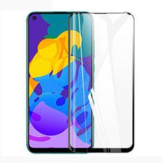 Huawei Honor Play4T用強化ガラス フル液晶保護フィルム ファーウェイ ブラック