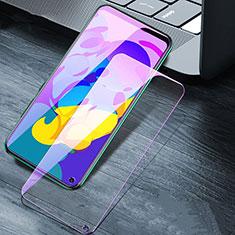 Huawei Honor Play4T用アンチグレア ブルーライト 強化ガラス 液晶保護フィルム B02 ファーウェイ クリア