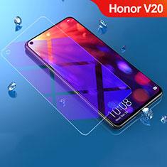 Huawei Honor V20用アンチグレア ブルーライト 強化ガラス 液晶保護フィルム B02 ファーウェイ クリア