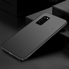 Huawei Honor V30 5G用ハードケース プラスチック 質感もマット カバー M01 ファーウェイ ブラック