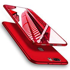 Huawei Honor V8用ハードケース プラスチック 質感もマット M06 ファーウェイ レッド
