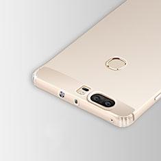 Huawei Honor V8用極薄ソフトケース シリコンケース 耐衝撃 全面保護 クリア透明 T05 ファーウェイ クリア