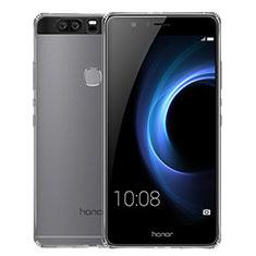 Huawei Honor V8用極薄ソフトケース シリコンケース 耐衝撃 全面保護 クリア透明 T02 ファーウェイ クリア