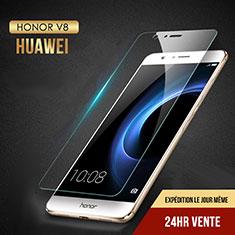 Huawei Honor V8用強化ガラス 液晶保護フィルム T02 ファーウェイ クリア
