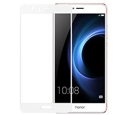 Huawei Honor V8用強化ガラス 液晶保護フィルム 3D ファーウェイ ホワイト