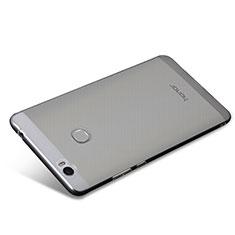 Huawei Honor V8 Max用極薄ソフトケース シリコンケース 耐衝撃 全面保護 クリア透明 T08 ファーウェイ クリア
