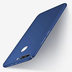 Huawei Honor V9用ハードケース プラスチック 質感もマット ファーウェイ ネイビー