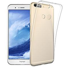 Huawei Honor V9用極薄ソフトケース シリコンケース 耐衝撃 全面保護 クリア透明 カバー ファーウェイ クリア