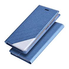Huawei Honor V9用手帳型 レザーケース スタンド ファーウェイ ネイビー