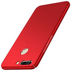 Huawei Honor V9用ハードケース プラスチック 質感もマット M01 ファーウェイ レッド