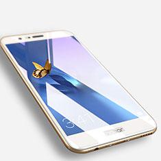 Huawei Honor V9用強化ガラス フル液晶保護フィルム F06 ファーウェイ ホワイト