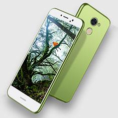 Huawei Honor V9 Play用極薄ソフトケース シリコンケース 耐衝撃 全面保護 ファーウェイ グリーン