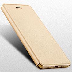 Huawei Honor V9 Play用手帳型 レザーケース スタンド L02 ファーウェイ ゴールド