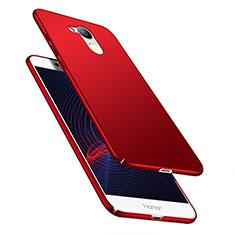 Huawei Honor V9 Play用ハードケース プラスチック 質感もマット M04 ファーウェイ レッド
