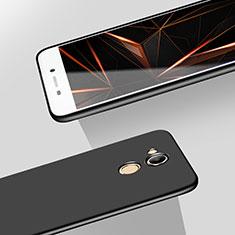 Huawei Honor V9 Play用ハードケース プラスチック 質感もマット M05 ファーウェイ ブラック