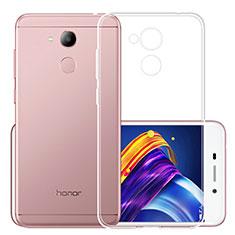 Huawei Honor V9 Play用極薄ソフトケース シリコンケース 耐衝撃 全面保護 クリア透明 カバー ファーウェイ クリア