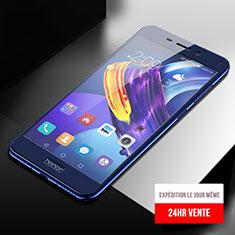 Huawei Honor V9 Play用強化ガラス フル液晶保護フィルム F04 ファーウェイ ネイビー