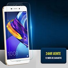 Huawei Honor V9 Play用強化ガラス 液晶保護フィルム T04 ファーウェイ クリア