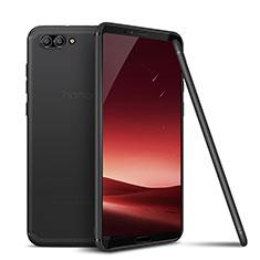 Huawei Honor View 10用極薄ソフトケース シリコンケース 耐衝撃 全面保護 S01 ファーウェイ グレー
