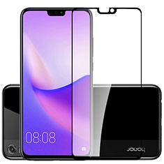 Huawei Honor View 10 Lite用強化ガラス フル液晶保護フィルム F02 ファーウェイ ブラック