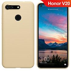 Huawei Honor View 20用ハードケース プラスチック 質感もマット M05 ファーウェイ ゴールド