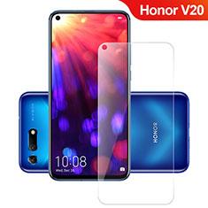 Huawei Honor View 20用強化ガラス 液晶保護フィルム T02 ファーウェイ クリア