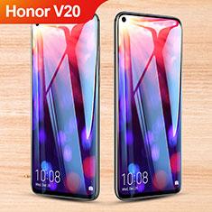 Huawei Honor View 20用強化ガラス フル液晶保護フィルム F06 ファーウェイ ブラック