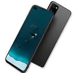 Huawei Honor View 30 5G用極薄ソフトケース シリコンケース 耐衝撃 全面保護 ファーウェイ ブラック