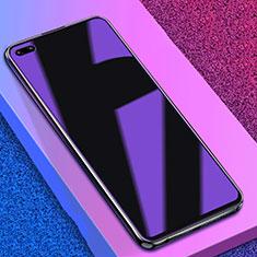 Huawei Honor View 30 5G用アンチグレア ブルーライト 強化ガラス 液晶保護フィルム B02 ファーウェイ クリア