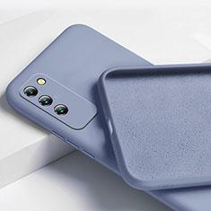 Huawei Honor X10 5G用360度 フルカバー極薄ソフトケース シリコンケース 耐衝撃 全面保護 バンパー ファーウェイ グレー