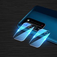 Huawei Honor X10 5G用強化ガラス カメラプロテクター カメラレンズ 保護ガラスフイルム ファーウェイ クリア