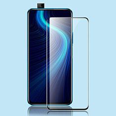 Huawei Honor X10 5G用強化ガラス フル液晶保護フィルム ファーウェイ ブラック