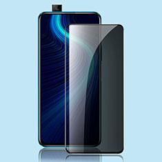 Huawei Honor X10 5G用反スパイ 強化ガラス 液晶保護フィルム ファーウェイ クリア