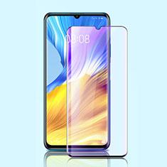 Huawei Honor X10 Max 5G用強化ガラス フル液晶保護フィルム アンチグレア ブルーライト ファーウェイ ブラック