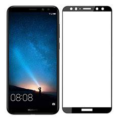 Huawei Maimang 6用強化ガラス フル液晶保護フィルム F03 ファーウェイ ブラック