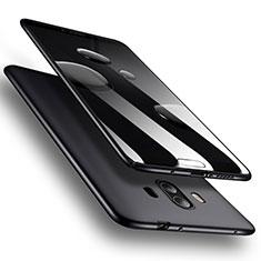Huawei Mate 10用ハードケース プラスチック 質感もマット M07 ファーウェイ ブラック